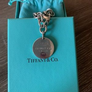 "Tiffany & Co ""return to Tiffany's"" round bracelet"